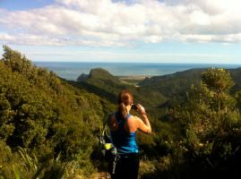 Trail running in the Waitakere Ranges