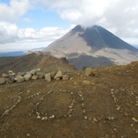 Someone brought an internet meme to Tongariro